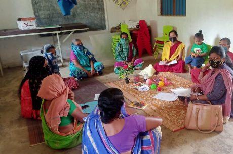 Survey at Raipali village